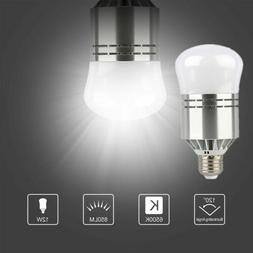 E26 E27 100W Dusk To Dawn LED Light Bulb Equivalent White Li