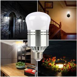 E26 E27 Dusk To Dawn 100W LED Light Bulb Equivalent 6500K Li