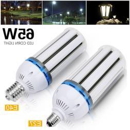 E26 E39 65W LED Corn Light Bulb Replacement 400Watt Metal Ha