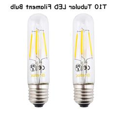 E26 LED Chandelier <font><b>Bulb</b></font> T10 4W Long <fon