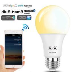 E27 4.5W Smart Bluetooth WiFi LED Light Bulbs APP by Amazon