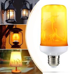 E27 9W Flicker Flame Light Bulb LED Burning Fire Light Effec