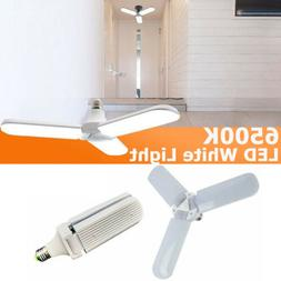 E27 Deformable LED Garage Light Radar Motion Ceiling Lamp Li