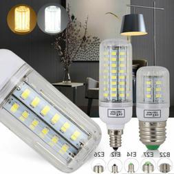E27 E14 E12 B22 LED Corn Bulb 5730 SMD Energy Saving Incande