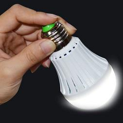 E27 Emergency Magic LED Light Bulb Rechargeable Intelligent