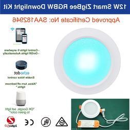 Echo Plus Hue Bridge compatible 12W Smart ZigBee LED Downlig