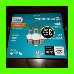 Eco Smart 40W Equivalent Soft White B11 Clear Decorative LED