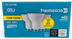 EcoSmart 50W LED Light Bulb Dimmable GU10 FREE SHIPPING