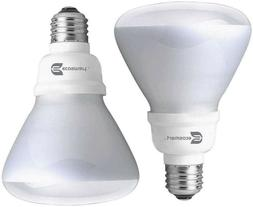EcoSmart 65W Equivalent use 14W BR30 CFL Light Bulbs - 30 US