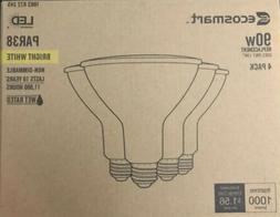 EcoSmart 90W Replacement PAR38 Non-Dimmable Flood LED Bulbs,