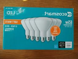 Ecosmart 6-Pack LED BR30 Flood Light Bulbs 65W Equiv Dimm So
