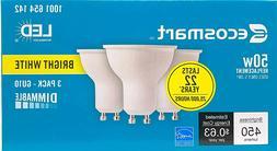 ecosmart led 50w replacement bright white gu10