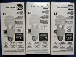 Ecosmart T3 - 60 Watt CFL - Fluorescent Light Bulbs - Lot of