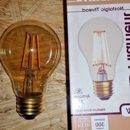 Edison Style antique LED Light Bulbs. Bulbrite antique A19 4