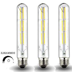 Dimmable 6 Watt LED T10 Tubular Light Bulb 60 Watt Incandesc