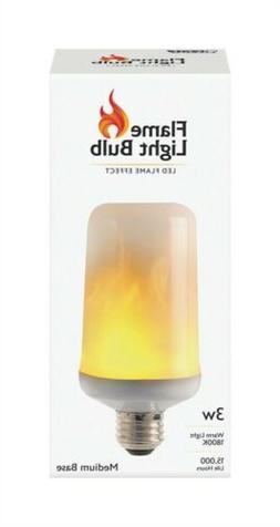 FEIT Electric  3 watts S6  LED Bulb  80 lumens Warm Candle L