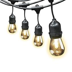 Feit Electric Indoor/Outdoor String Lights, 48ft - Great for