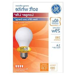Energy-Efficient Halogen Bulb  A19  29 W  Soft White  4/Pack