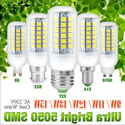 Energy Saving 5050 Chip LED Corn Bulbs 220V Light E27 E14 B2