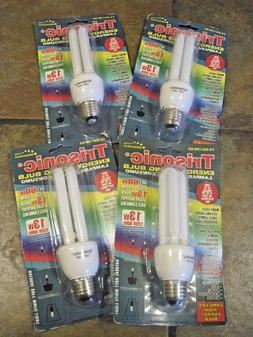 TRISONIC ENERGY SAVING BULBS, LOT OF  GET 60W LIGHT FROM 13W