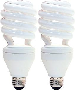 6-Pack GE Energy Smart CFL 3-way 16//25//32-Watt; 600//1600//2150-Lumen T3 Spiral Medium Base