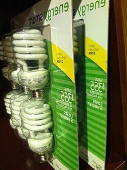 GE 26 Watt T3 Spiral Energy Smart CFL, Medium  Base, 2700K,