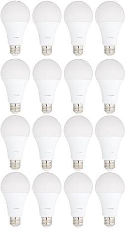 AmazonBasics 100 Watt Equivalent, Soft White, Non-Dimmable,