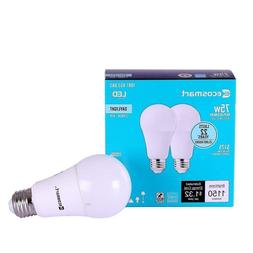EcoSmart 75W Equivalent Daylight A19 Dimmable LED Light Bulb
