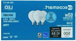 EcoSmart 60W Equivalent Daylight Dimmable LED Light Bulbs G1