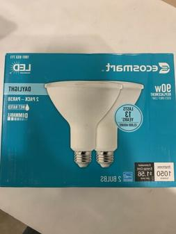 EcoSmart 90W Equivalent Daylight PAR38 Dimmable LED Flood Li