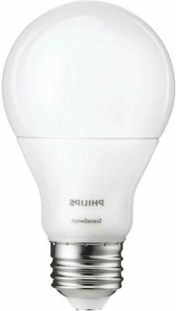 Philips 60W Equivalent LED Light Bulb SceneSwitch Daylight/S