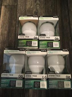 TCP LA927KND6 9 Watt LED Light Bulbs   Shatter Resistant   E