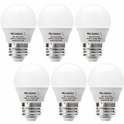 LOHAS 3W LED Light Bulb, G14 LED 25W Equivalent Light, E26 M