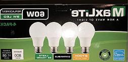 MaxLite 60 Watt Equivalent, Soft White, Dimmable, A19 LED Li