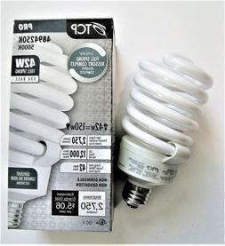 TCP 150 Watt Equivalent Single-Pack, CFL Spiral Light Bulb,