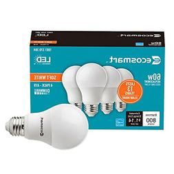 Ecosmart 60W Equivalent Soft White A19 Energy Star and Dimma