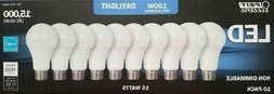 Feit 100W Led Replacement Bulbs Using 15W Daylight 5000K 160