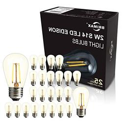 BRIMAX -  - 2W S14 LED Outdoor Edison Light Bulbs for String
