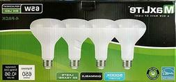 MaxLite Flood LED Bulb, 8W (65W-650 Lumens,Dimmable - 4pk Da