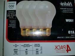Halco frost 100w light bulbs 4 pack