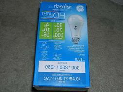 New G E Led  Daylight  3 Way refresh 30w , 70w or 100w Bulb