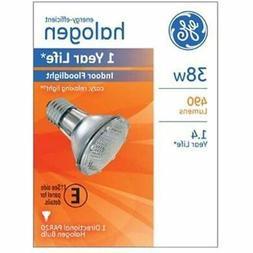 G E Lighting 69163 Halogen Floodlight Bulb, Indoor, Par 20,