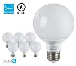 G25 Globe LED Light Bulb, 5W , ENERGY STAR, Damp Location Av