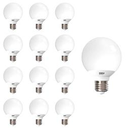 4-Pack G25 Globe 40W Replacement Light Bulbs Use only 11W