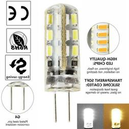 G4 24 LED 2 PIN Capsule Cold White Replace Halogen Bulbs DC