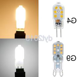 G4/G9 LED Capsule Light Bulbs Dimmable Halogen Bulbs Replace