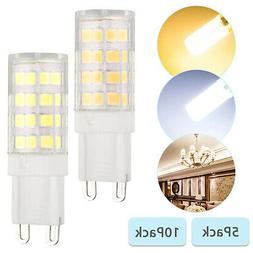 G9 40W Equivalent Halogen LED Bulbs 6000K 5W 2835 40-SMD Day