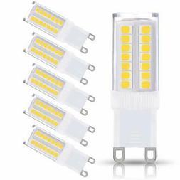 JCase G9 LED Light Bulbs 5W  400LM Daylight White