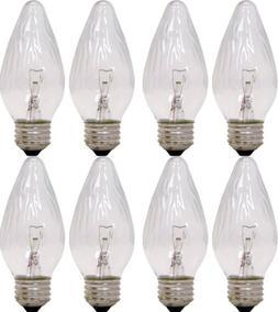 GE Auradescent 75340 25-Watt, 120-Lumen Flame Tip Light Bulb