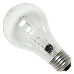 GE 97489-24 Crystal Clear General Purpose A19 Bulb, 100-Watt